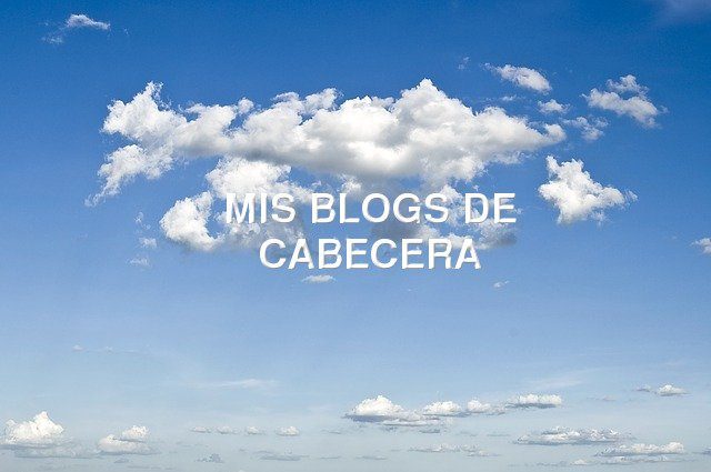 Nubes y blogs