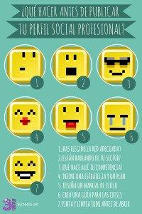 qué hacer antes de hacer publico tu perfil social profesional