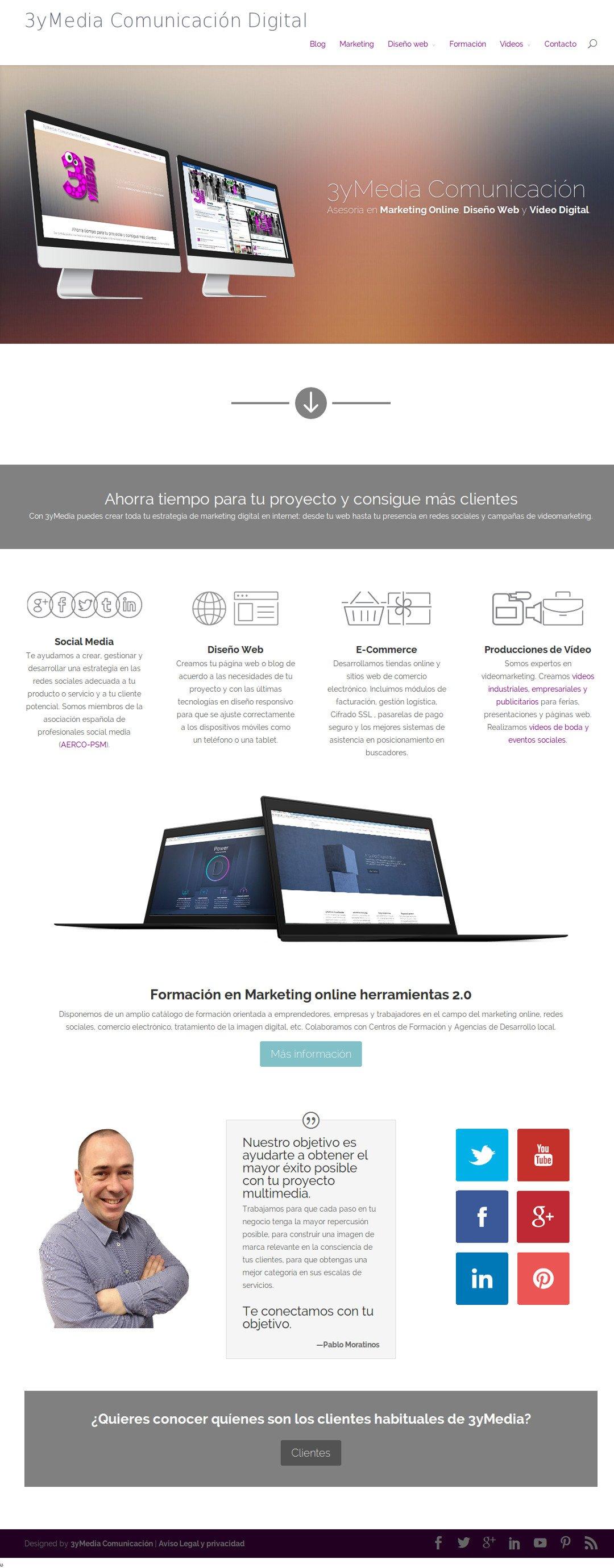 Web de 3yMedia