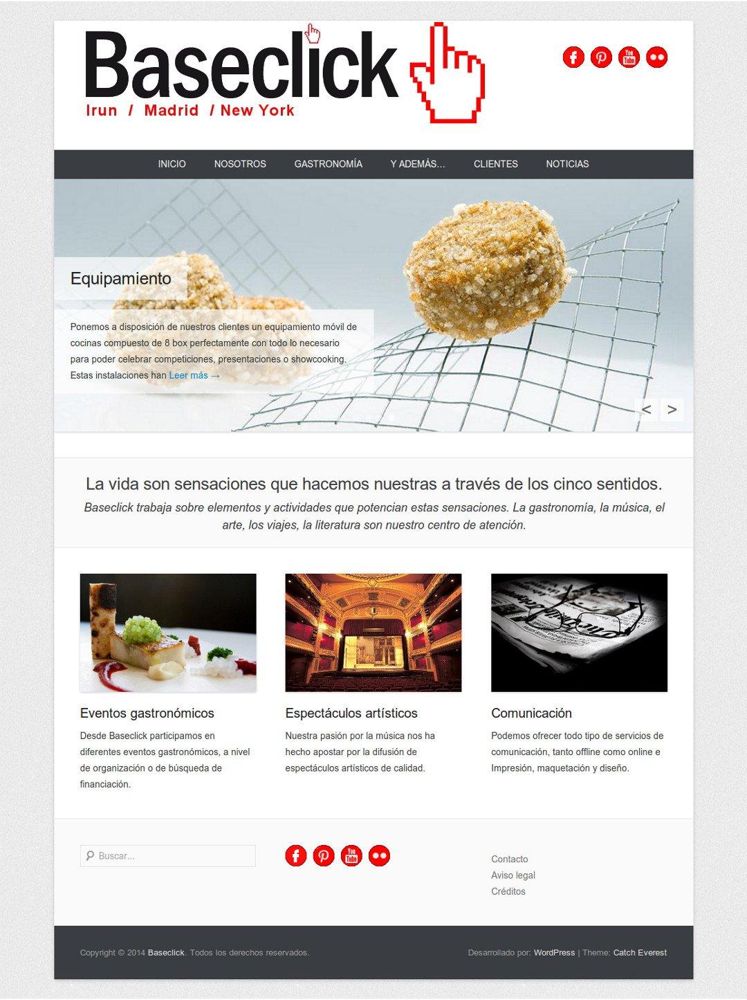 Web de Baseclick