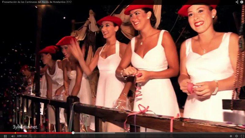 Presentación de Cantineras de Hondarribia 2012