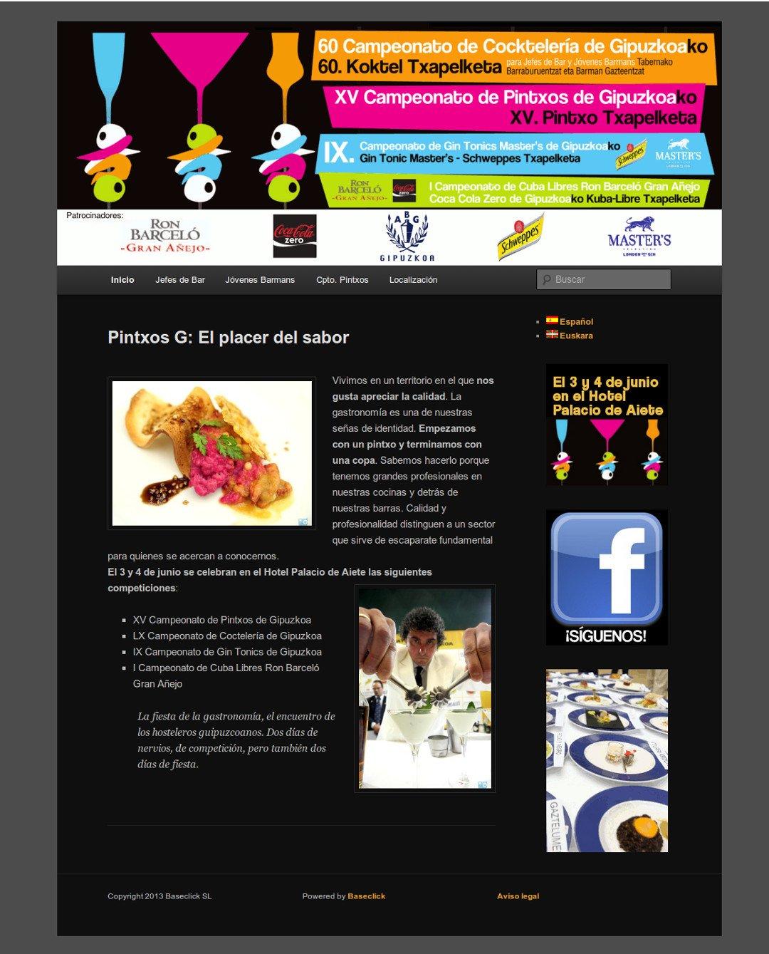Web de PintxosG
