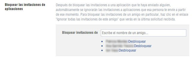 no recibir invitaciones a juegos en Facebook 7