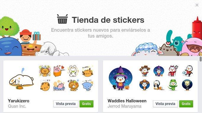 Stickers en los comentarios de Facebook ¡¿Por fin?!