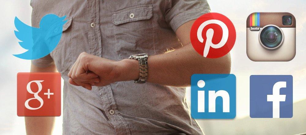 ¿Con qué frecuencia debo publicar en cada red social?