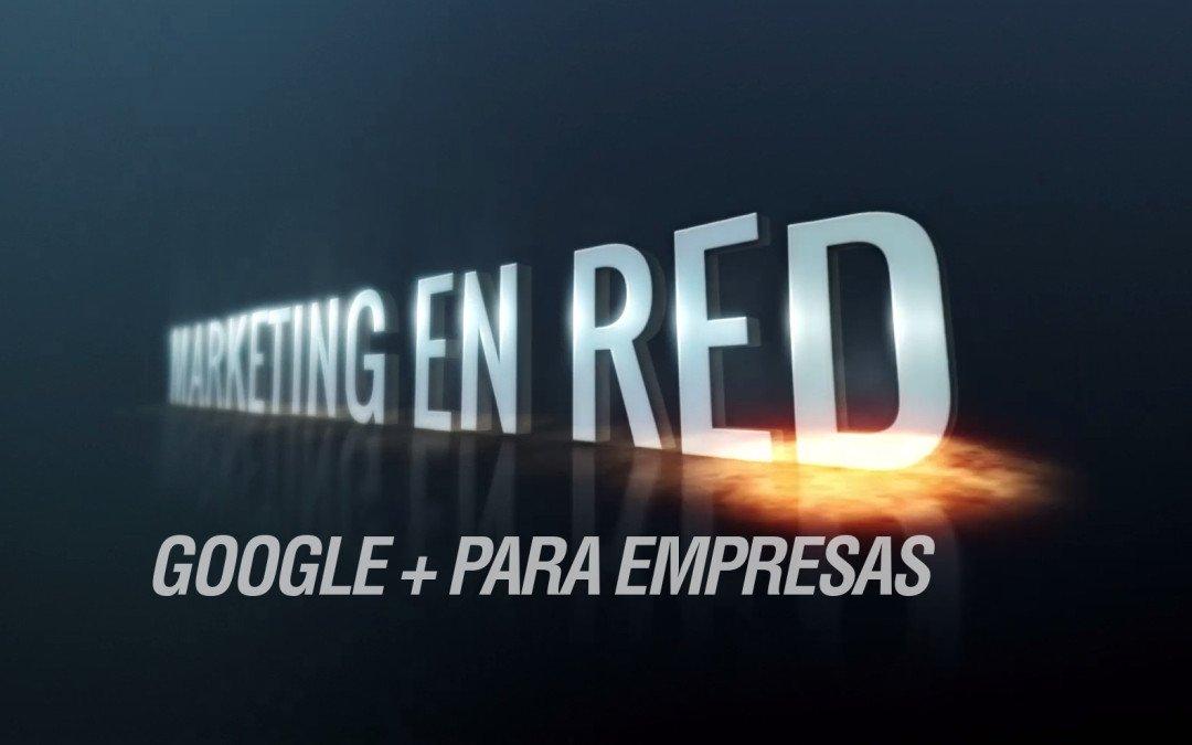 Google+ para empresas, creando una página