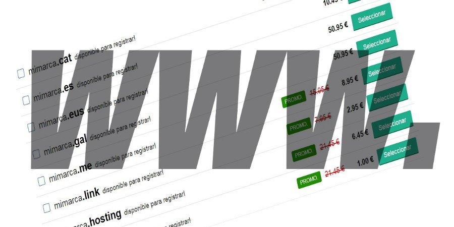 Cómo elegir un buen nombre de dominio para mi web