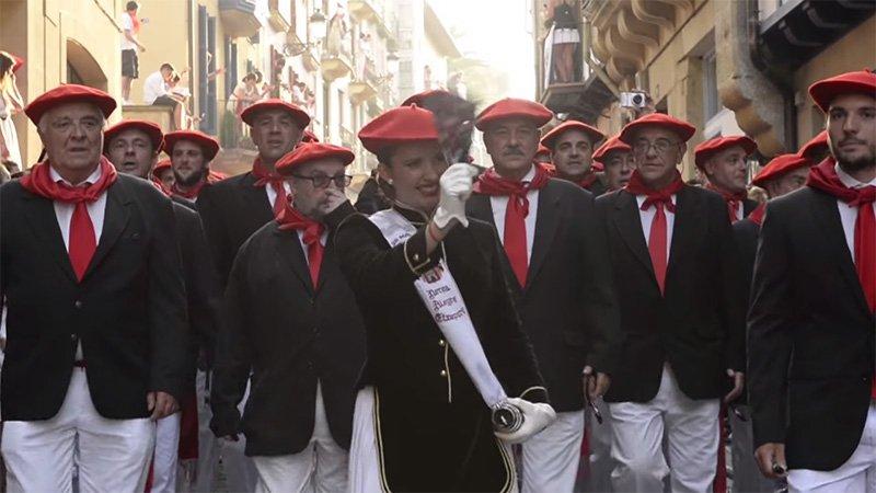 Cantineras del Alarde de San Marcial 2015