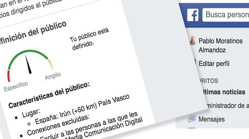 Publicidad en Facebook, edge rank y sección de noticias