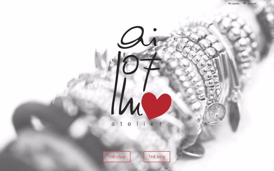 Diseño de tienda online: Ailofllu.es