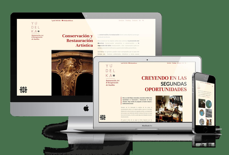 Diseño web: Txikis del Bidasoa