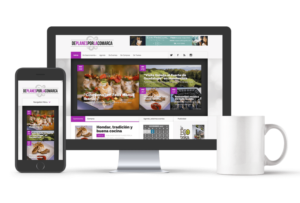 Proyecto web De planes por la comarca