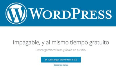 Cómo instalar WordPress para dummies