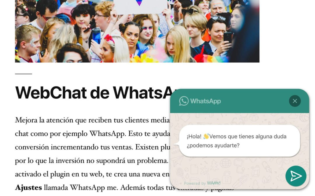 Como añadir un chat de WhatsApp a tu WordPress