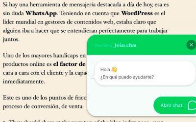 Como añadir un chat de WhatsApp a tu WordPress